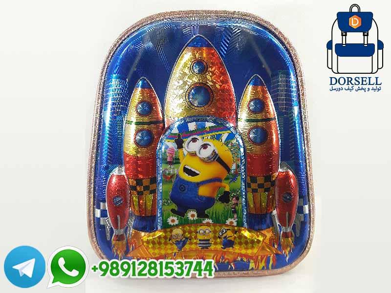 کیف مدرسه چرخدار پسرانه
